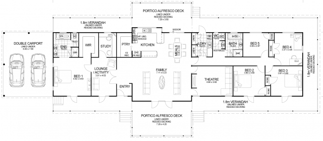 Floor plan friday the queenslander starting ideas for for Queenslander home designs australia