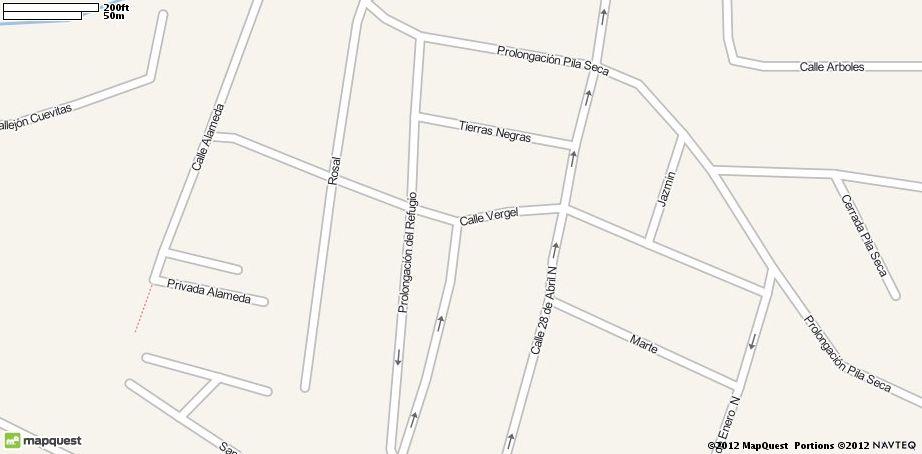 map of san miguel de allende  mexico