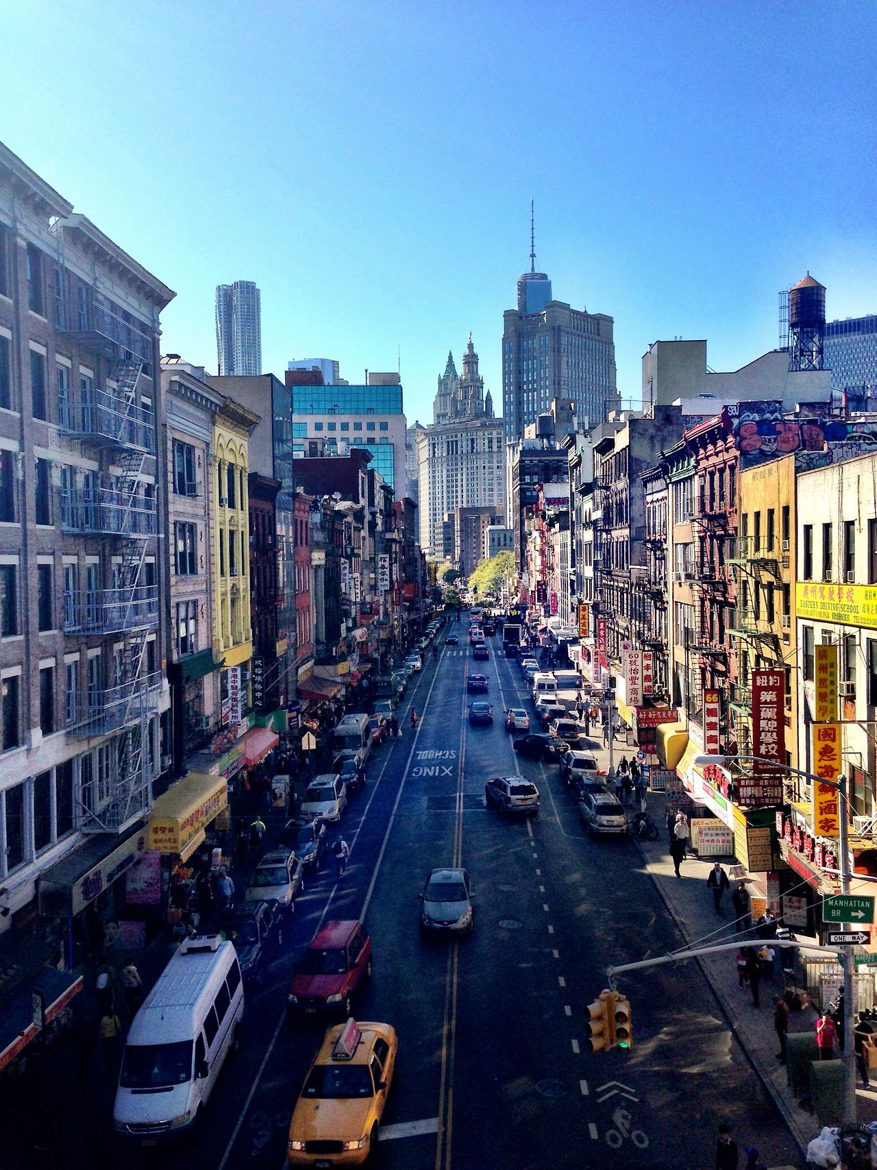 Chinatown, NYC. Need to make a trip there. Manhattan