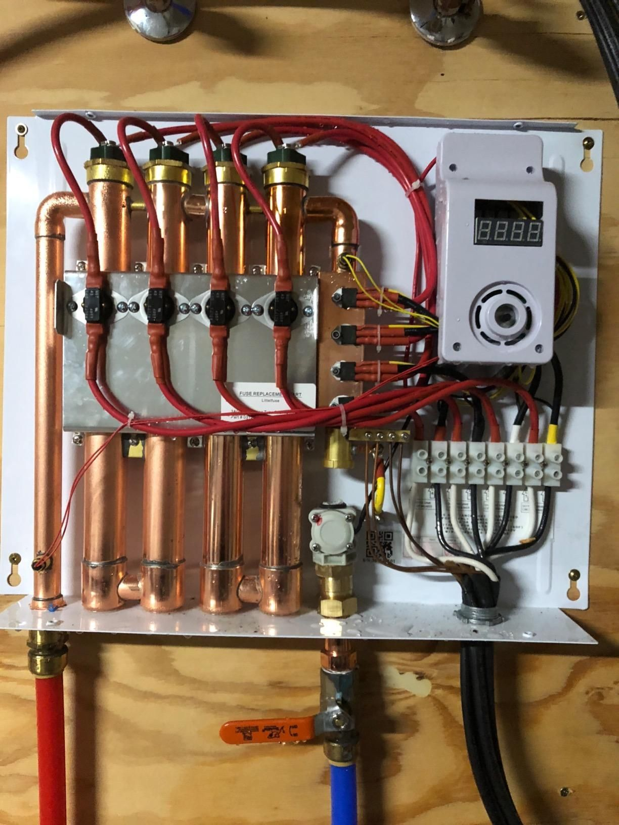 Compact Design Of The Water Heating System Saves Up To 12 Cubic Metre Of Storage Space When Compared Water Heating Systems Tankless Water Heater Water Heating
