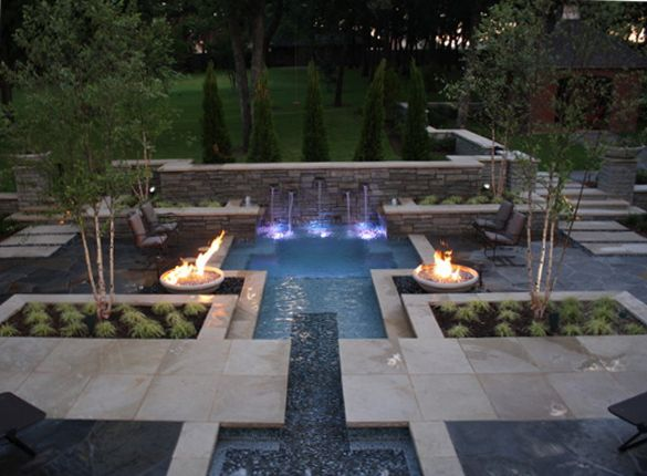 Spool Pools For Small Yards Pool Designs For Homes With