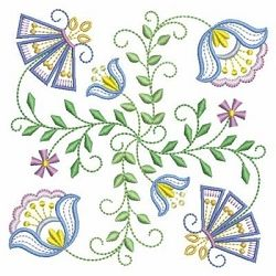 Vintage Jacobean Quilt 4, 8 - 3 Sizes! | What's New | Machine Embroidery Designs | SWAKembroidery.com Ace Points Embroidery