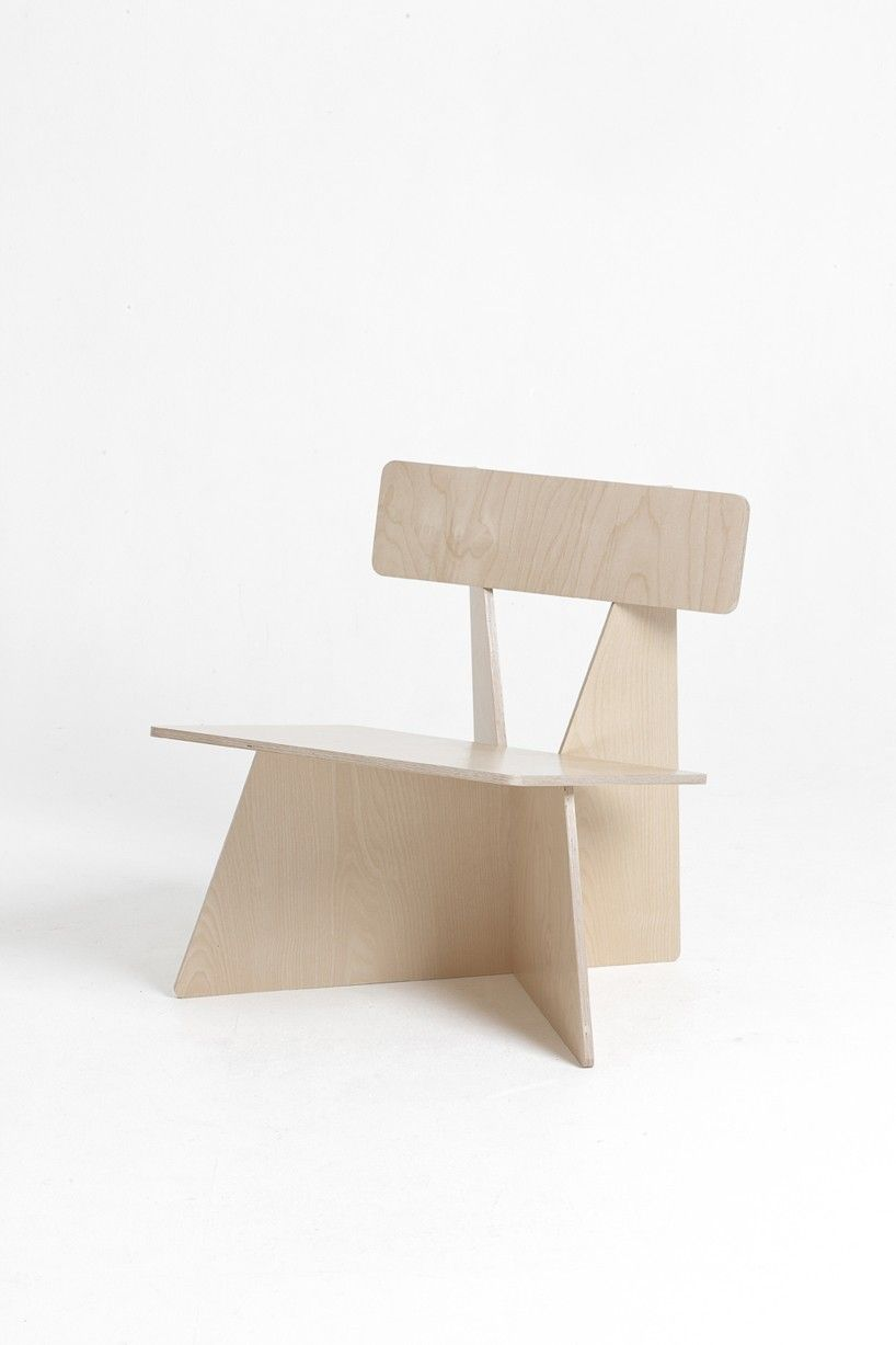 Four Brothers Chairs by Seungji Mun | Plywood and Product design