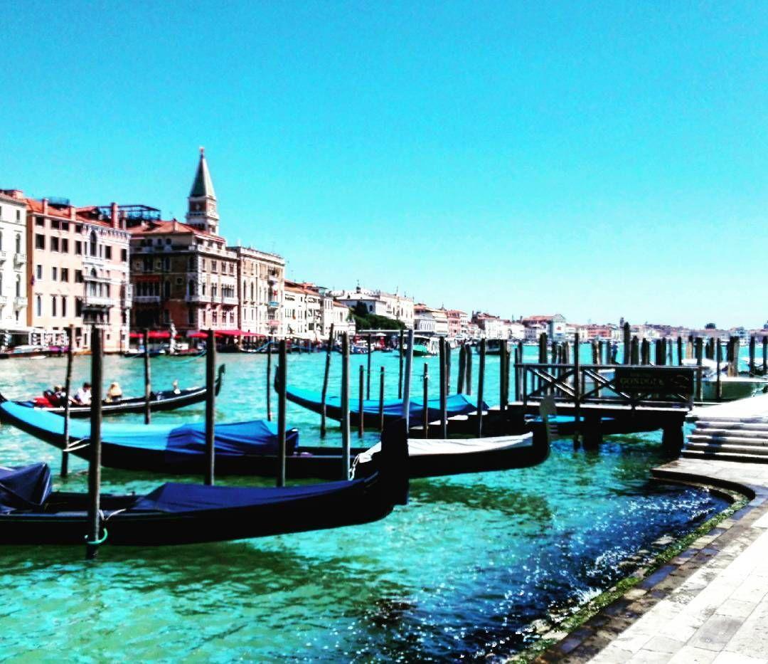 Anya, please just stop with the gondola pictures. Last one I promise #veniceitaly #gondolas #grandcanal #venezia
