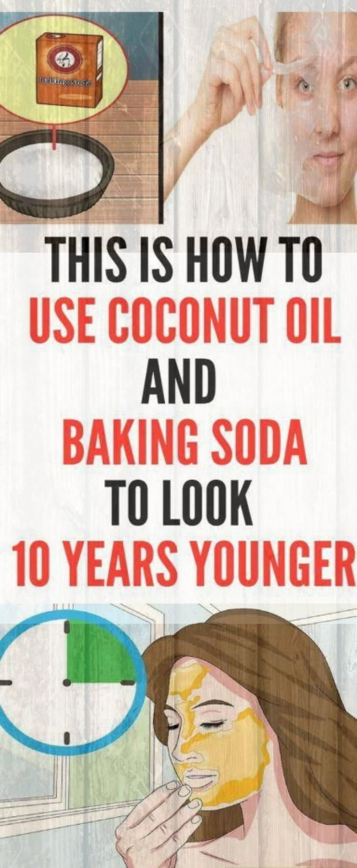 Coconut Oil Can Make You Look 10 Years Younger If You Use It For 2 Weeks #health #fitness #beauty