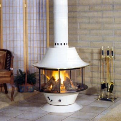 Spin A Fire wood stove fireplace from Malm Fireplaces Cozy
