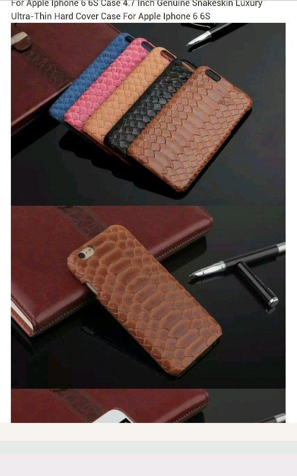 big sale 5ee2c 029bc luxury genuine snakeskin case for apple iphone 6S #apple #iphone6s ...