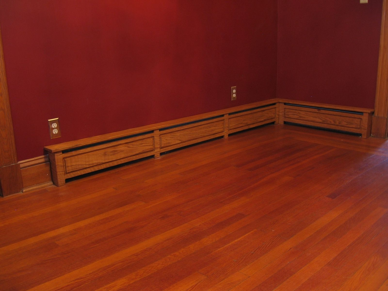 Wood Baseboard Heater Covers Custom Made Baseboard