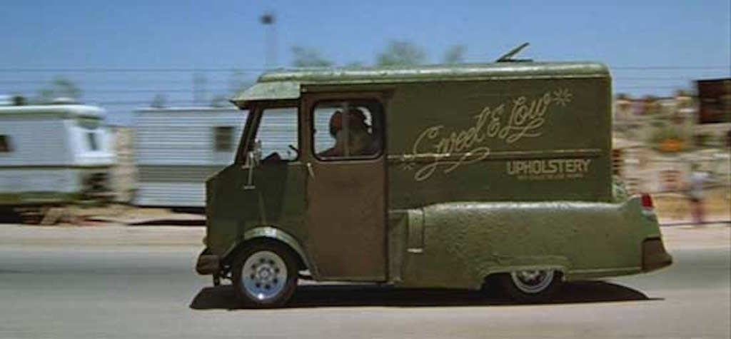 Found on Bing from www.autoinfluence.com | Cheech and chong, Green vans, Van