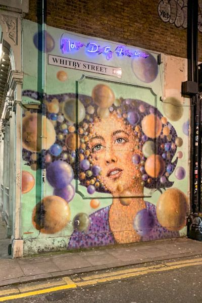 London Map Shoreditch Area: Free Self-Guided Walk In East