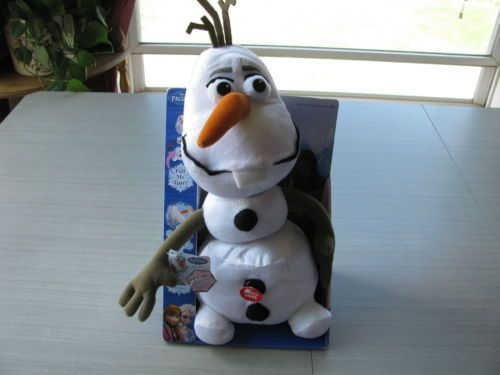 Disney Frozen Pull-Apart Stuffed Olaf the Snowman! This ...