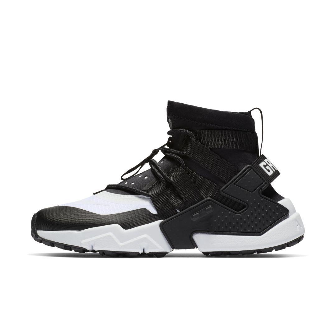 Simplemente desbordando élite mordaz  Nike Air Huarache Gripp Men's Shoe (Black) | Huaraches, Mens nike shoes, Nike  air huarache