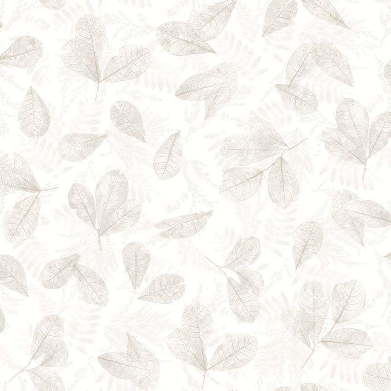 Papier Peint Feuilles Ever Beige 7300 De La Collection Papier