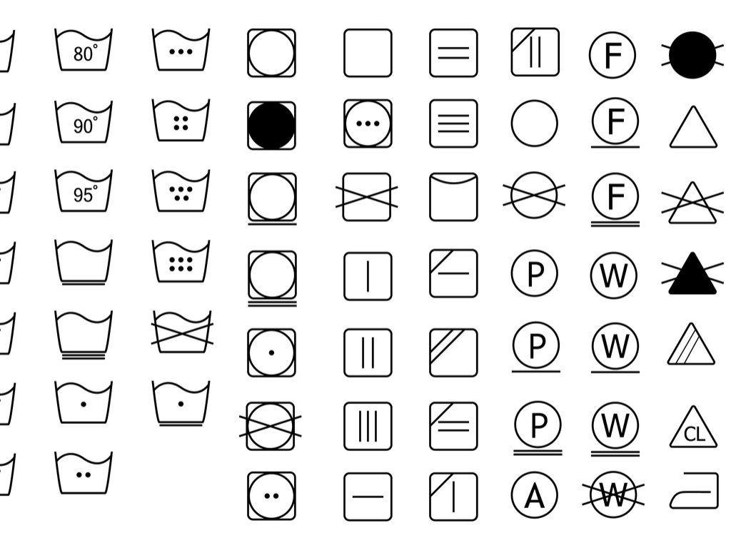Llll Tipps Zu Waschsymbole Welche Pflegekennzeichen Gibt Es Wie Sehen Die Waschsymbole Fur Trocknen Und Bugeln Waschsymbole Pflegekennzeichen Waschzeichen