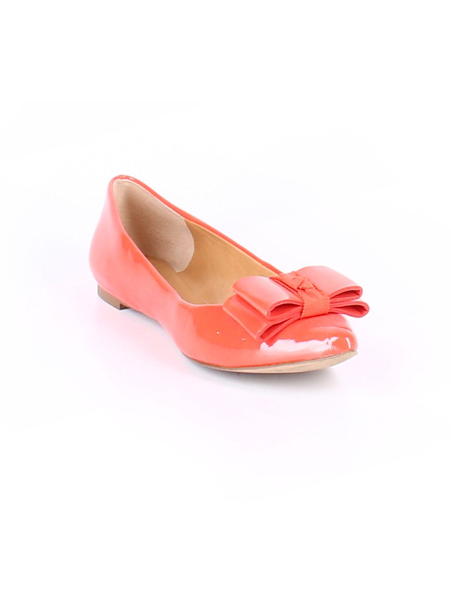 4d0bdb616 J. Crew Factory Store Flats: Size 6.00 Orange Women's Clothing - $27.99