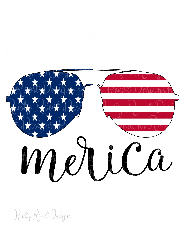 Merica Sunglasses Digital Download Sublimation Design Download Usa Flag Glasses 4th Of July Clipart America 4th Of July Clipart 4th Of July Wallpaper Clip Art