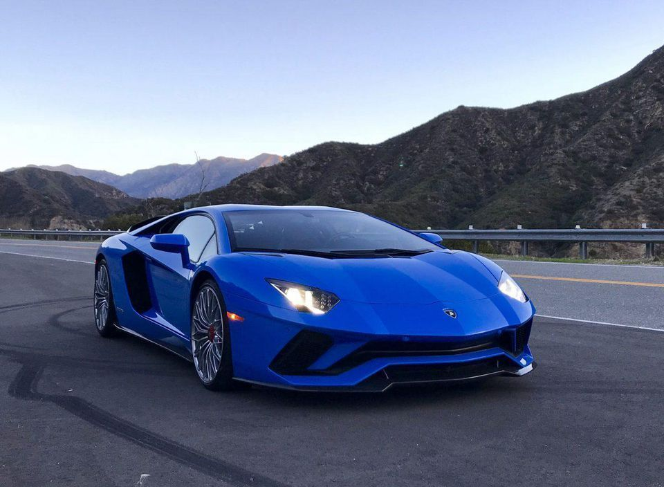 A $522,000 740 HP Lamborghini Aventador S For A Long, Long Weekend: The Best Lamborghini Ever Aventador S is about 85 percent Italian and 15 percent German. Every touch surface, every sound, every form of contact is screaming, yowling, erotically Italian yet with none of the heartaches and pain characteristic of Lamborghini before VW Group arrived in Sant\u2019Agata. #blue