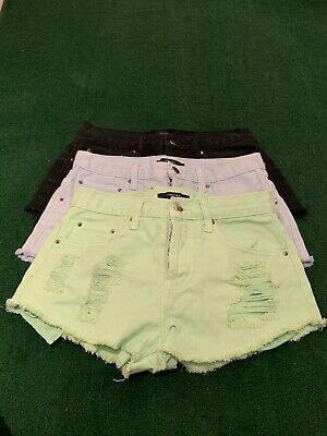 Forever 21 destroyed distressed Denim cutoff shorts size 25 3 Pairs! New! #fashion #clothing #shoes #accessories #womensclothing #shorts (ebay link) #denimcutoffshorts