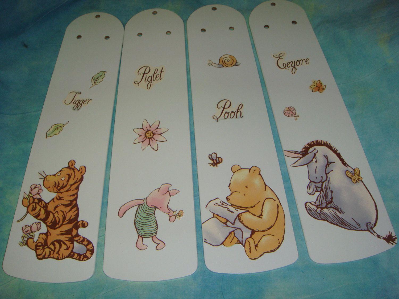 Eeyore Wall Stickers Custom Ceiling Fan Blades Classic Winnie The By