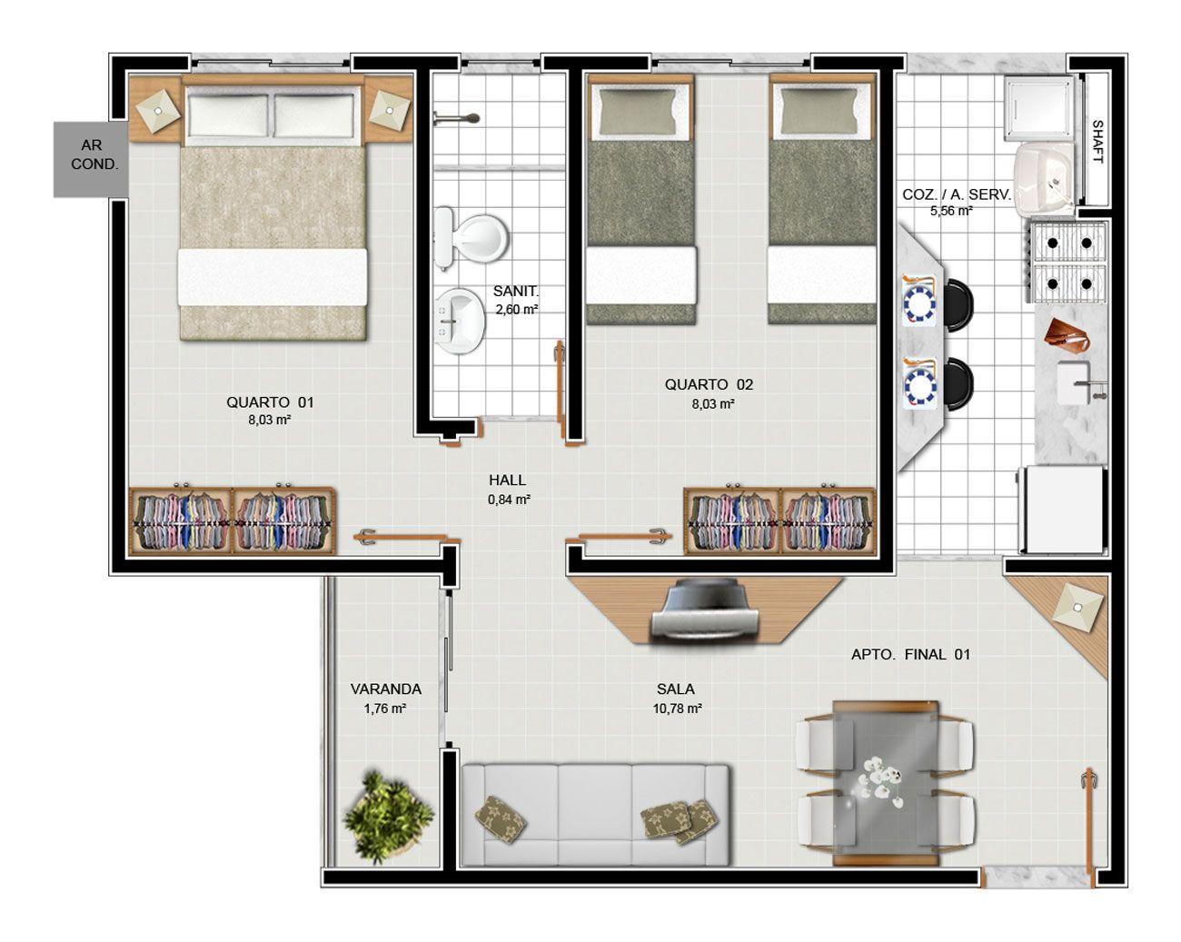 35 Modelos De Planta Baixa Para Minha Casa Minha Vida Minha Casa