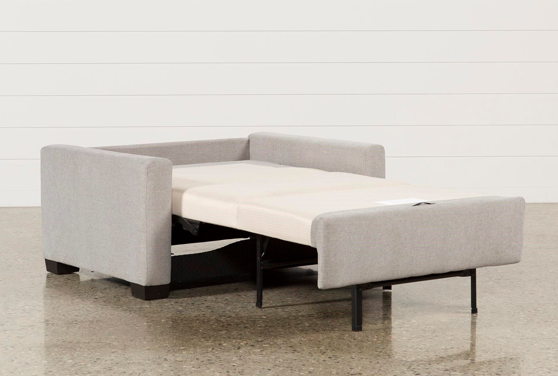 Twin Sofa Sleeper, Mackenzie Silverpine Grey 2195