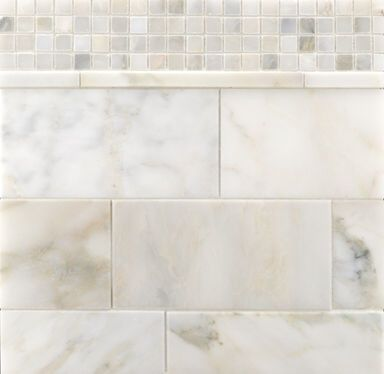 Selene Stone Ann Sacks Tile Traditional Bathroom