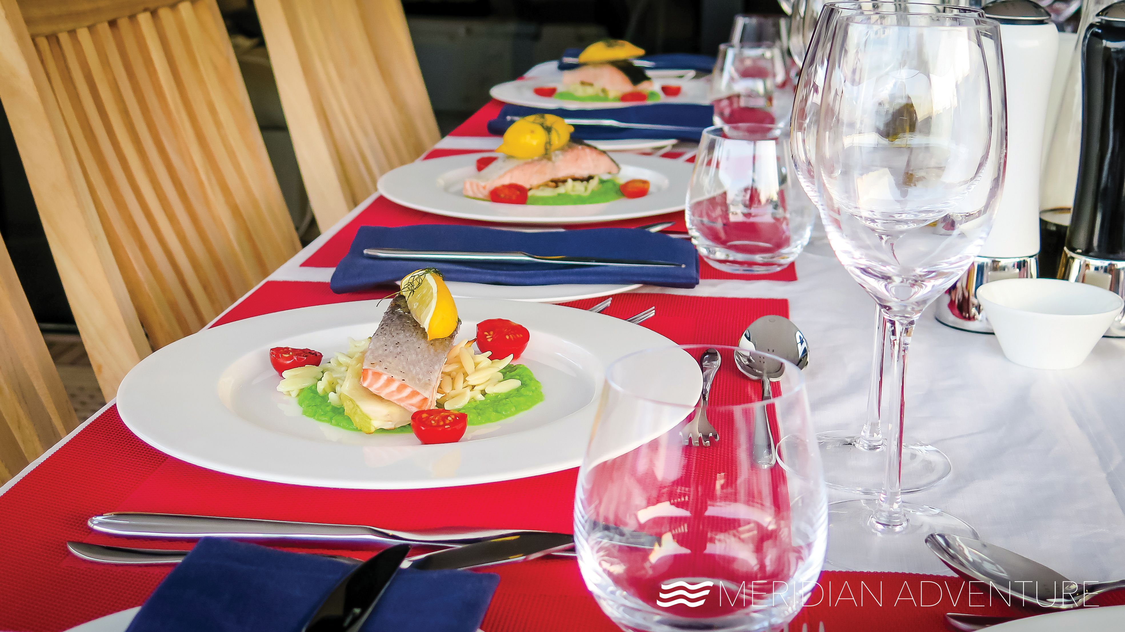 Delicious meals - our itinerary have a great variety of activities, also the culinary ones.