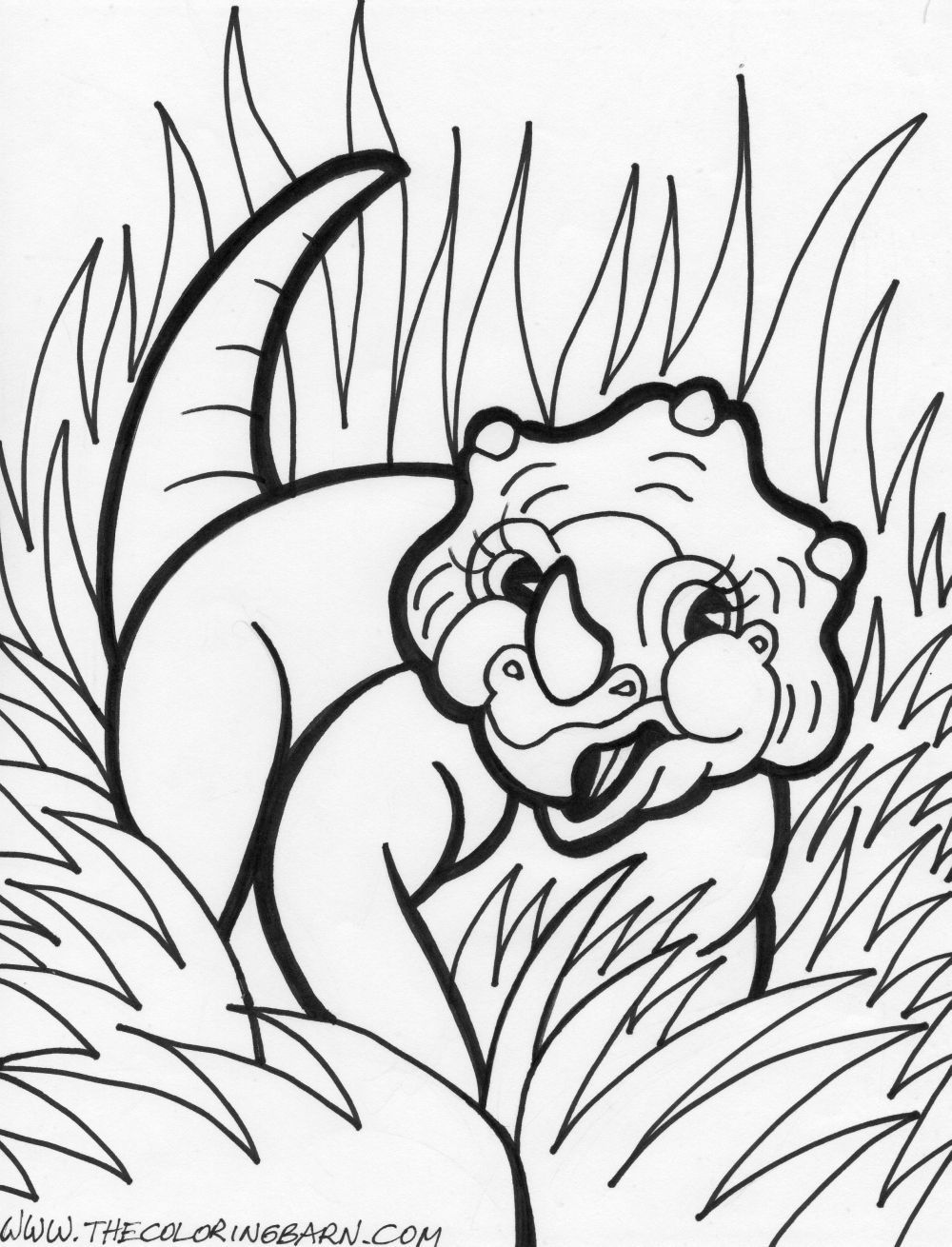 http://ColoringToolkit.com --> dinosaur coloring pages --> If you\'re ...