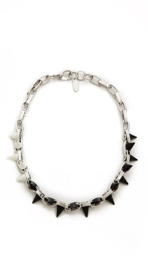 Joomi Lim Monochrome Mania Spike Choker on shopstyle.com