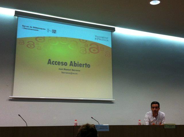 Setmana Internàcional de L'accés obert. Jose Manuel Barrueco