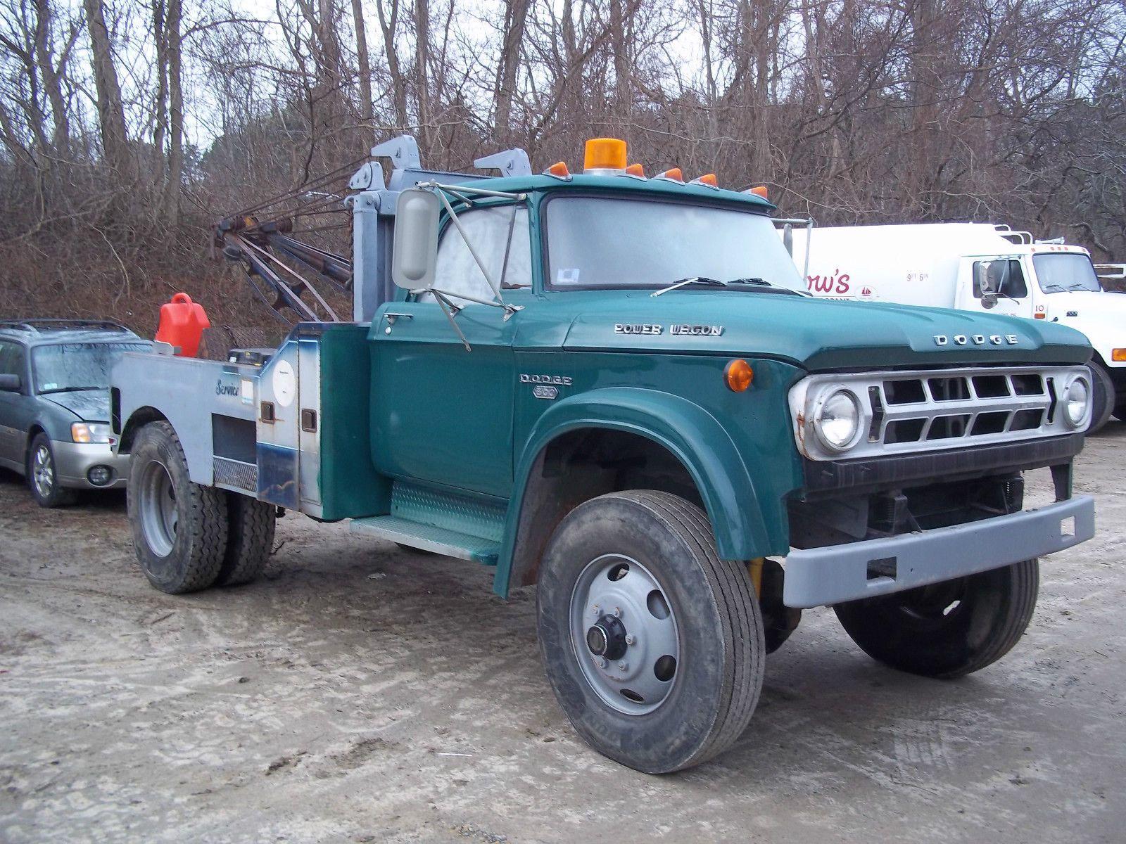 1968 Dodge Power Wagon W500 4x4/Dually wrecker | Wreckers, RollBacks ...