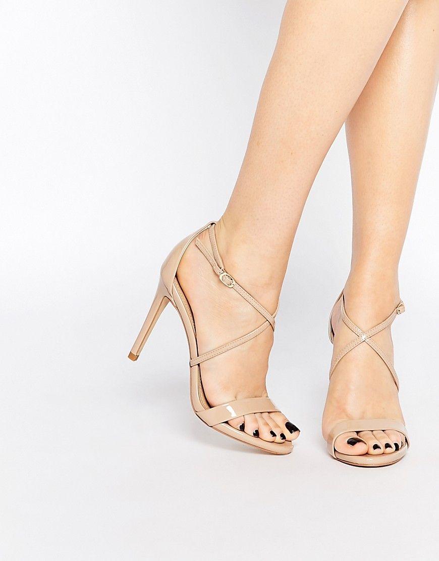 Image 1 of Steve Madden Feliz Cross Strap Platform Heeled Sandals