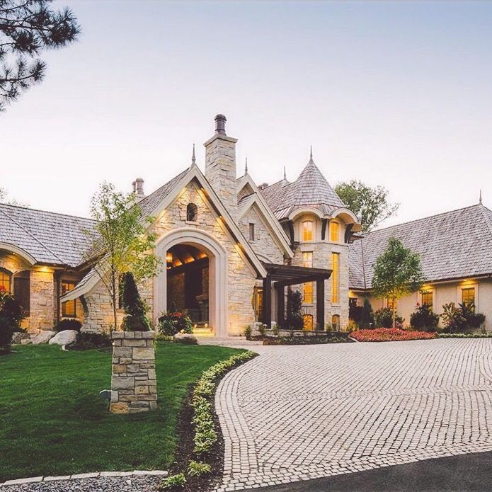 Stone Luxury Home Designs: Pinterest: Bellaxlovee ☾