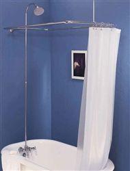 Strom Plumbing Chrome Shower Enclosure Set Includes Faucet