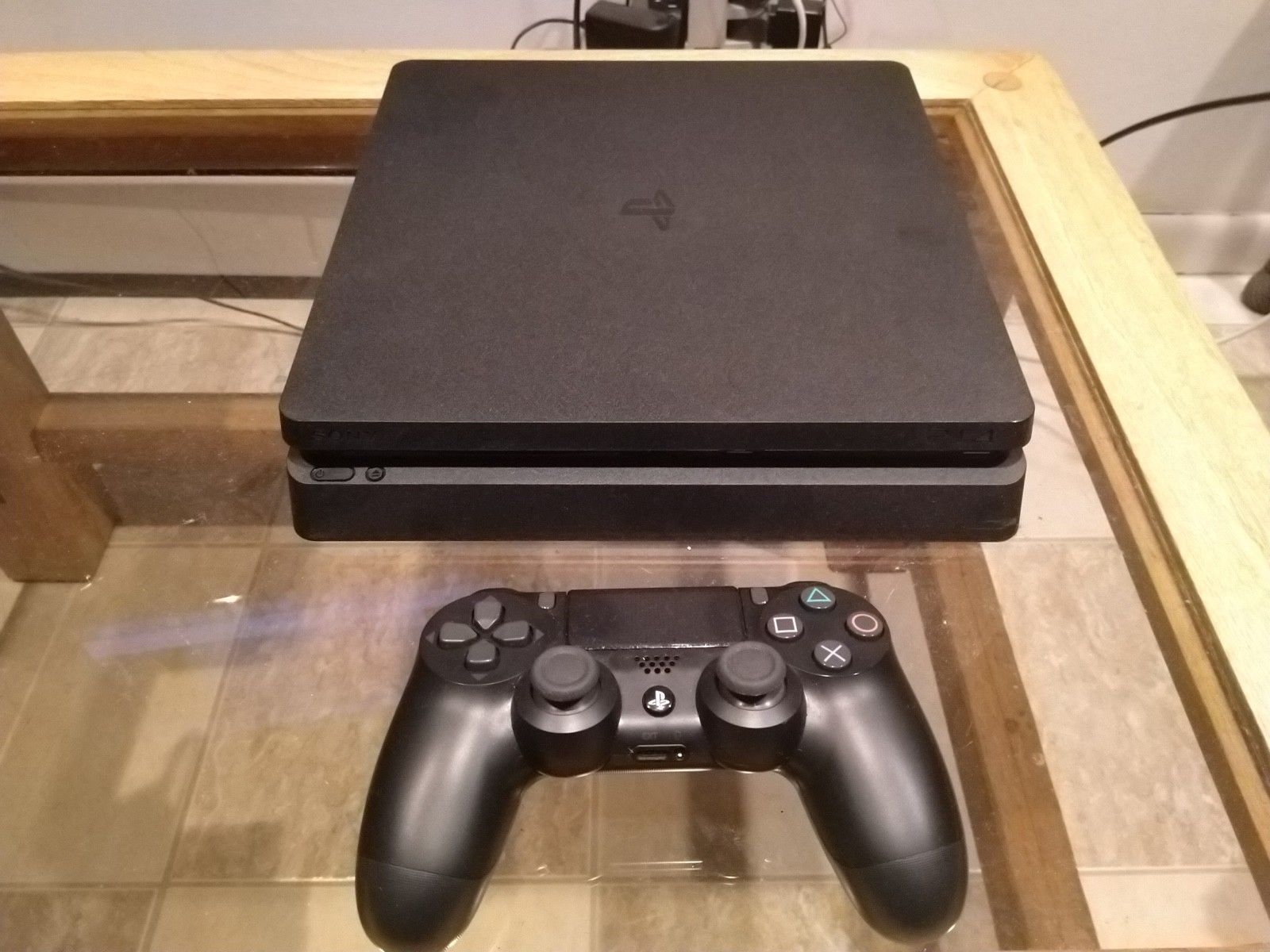 Ps4 For Sale Fairly Used But Still Clean And Works Perfectly With One Controller Inbox Or Whatsapp If Interested 1 9 Ps4 Slim Console Ps4 Slim Playstation 4