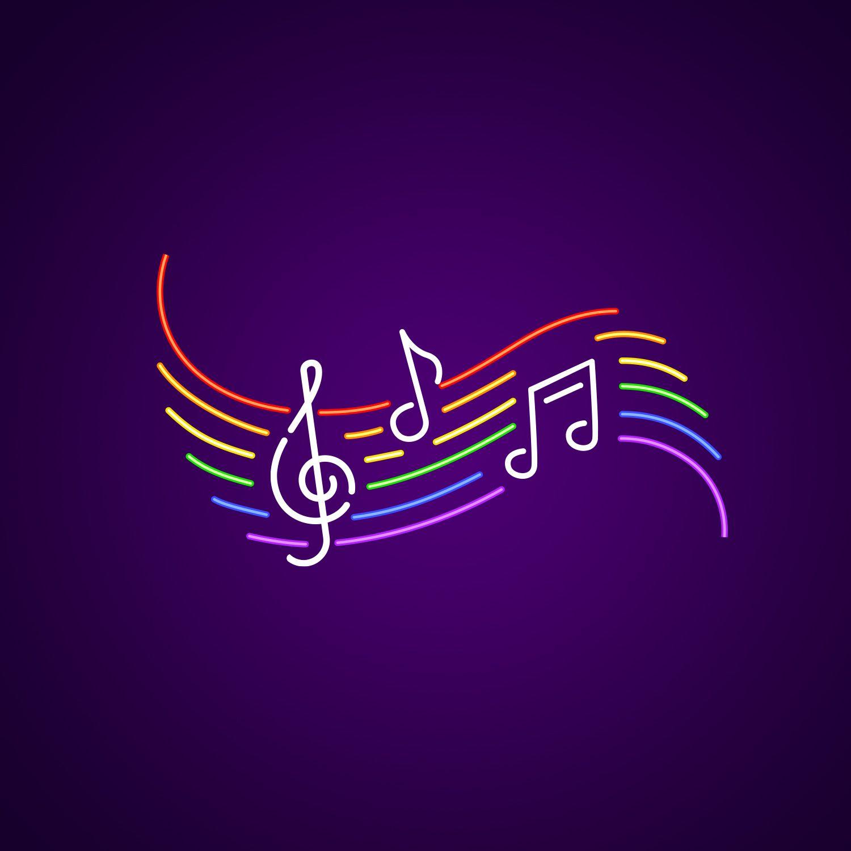 Musical Notes Neon Lights Neonize It! Neon lighting