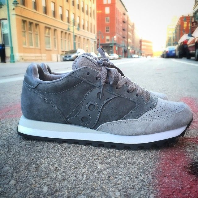factory authentic 9860f ea503 New Arrival | Saucony | Jazz O Premium | Charcoal/Grey | $90 ...