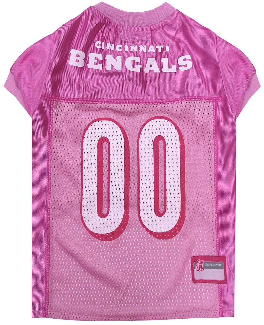 Cincinnati Bengals NFL Licensed Pink Dog Football Jersey