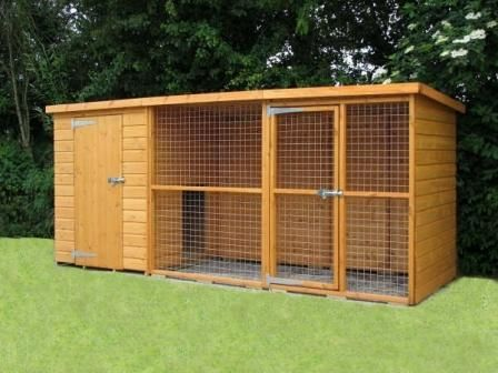 Outside Dog Run/kennel? - Chazhound Dog Forum