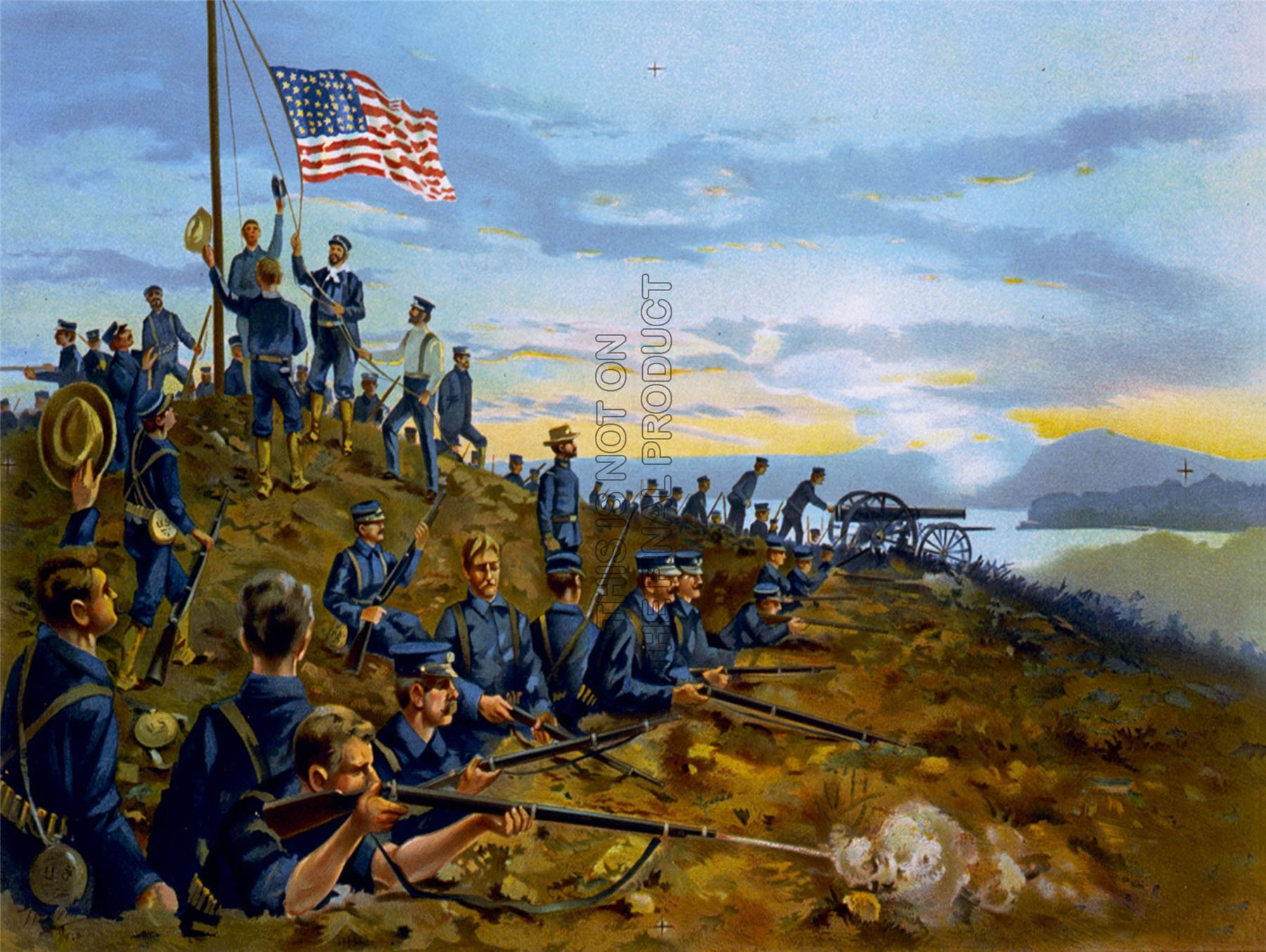 The Spanish American War Was A Conflict Between The