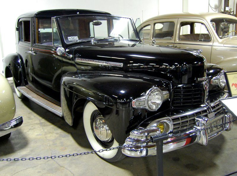 1942 Lincoln Town Car originally owned by Henry Fordu0027s wife; Mrs. Clara Ford . & 1942 Lincoln Town Car originally owned by Henry Fordu0027s wife; Mrs ... markmcfarlin.com