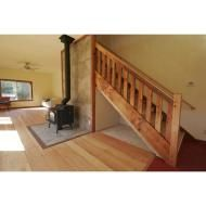 Best Barn Wood Banister Stairs Railings Banisters 400 x 300