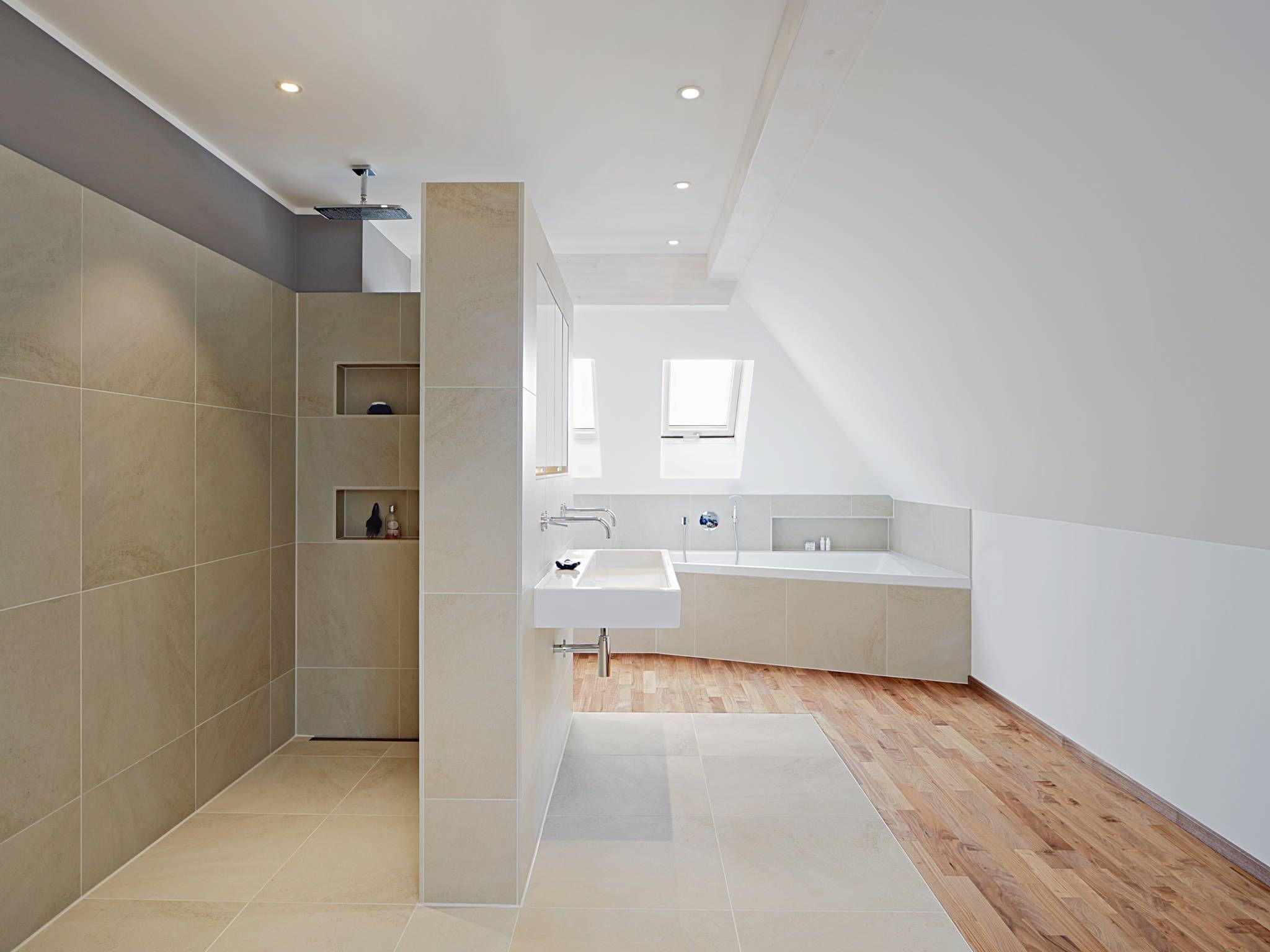 Bathroom: Modern Bathroom by Baufritz (UK) Ltd. | Bathroom Idea\'s ...
