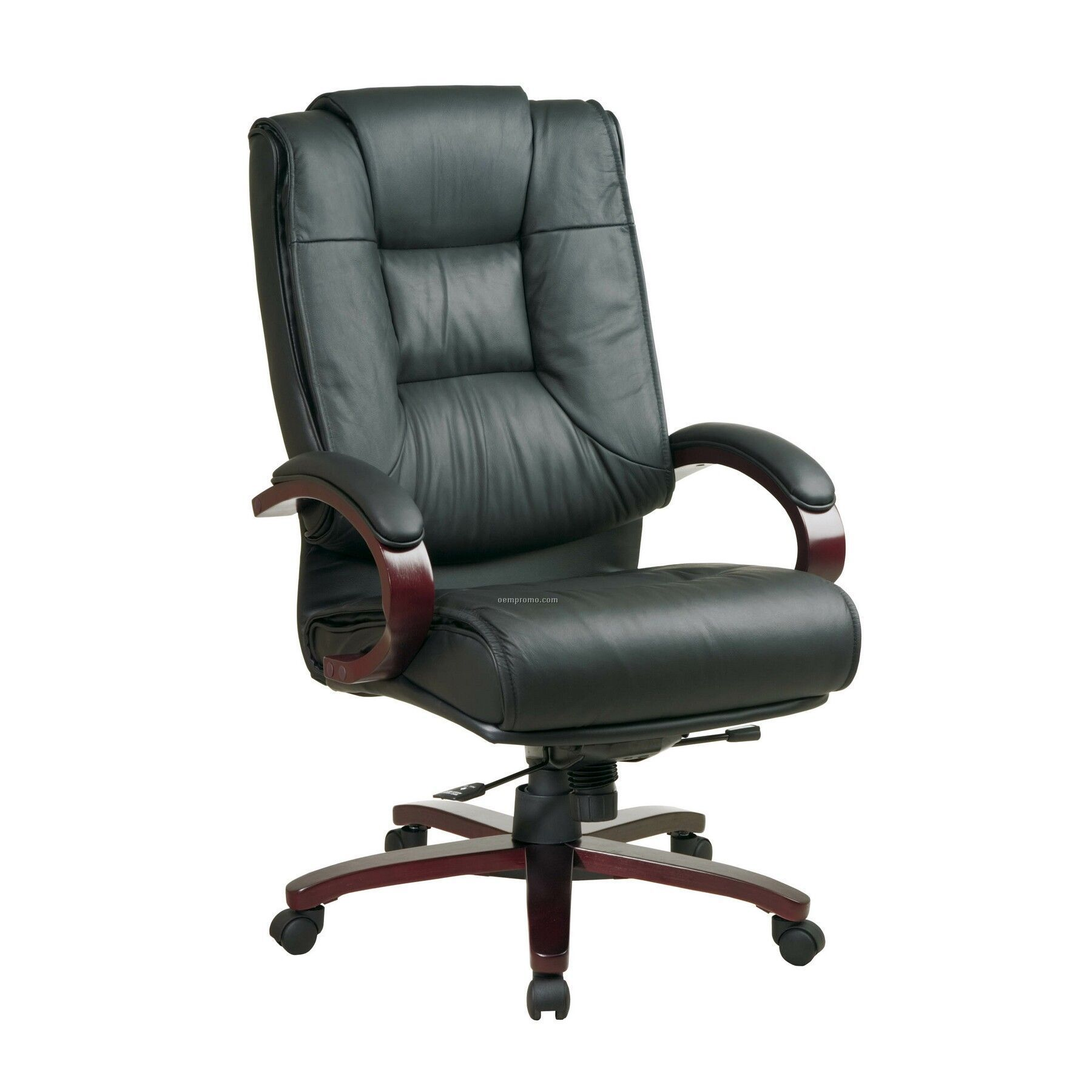 Leather Computer Chairs black leather office chair | blackwillowmink | pinterest