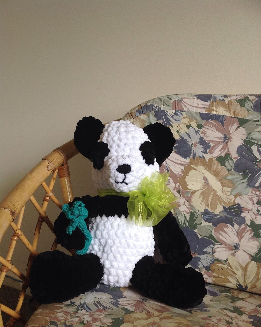 Guess who made a mess in my house last week It was my new creation Amanda Panda She is extremely cuddly and soft Except her fur which was literally everywhere including o...