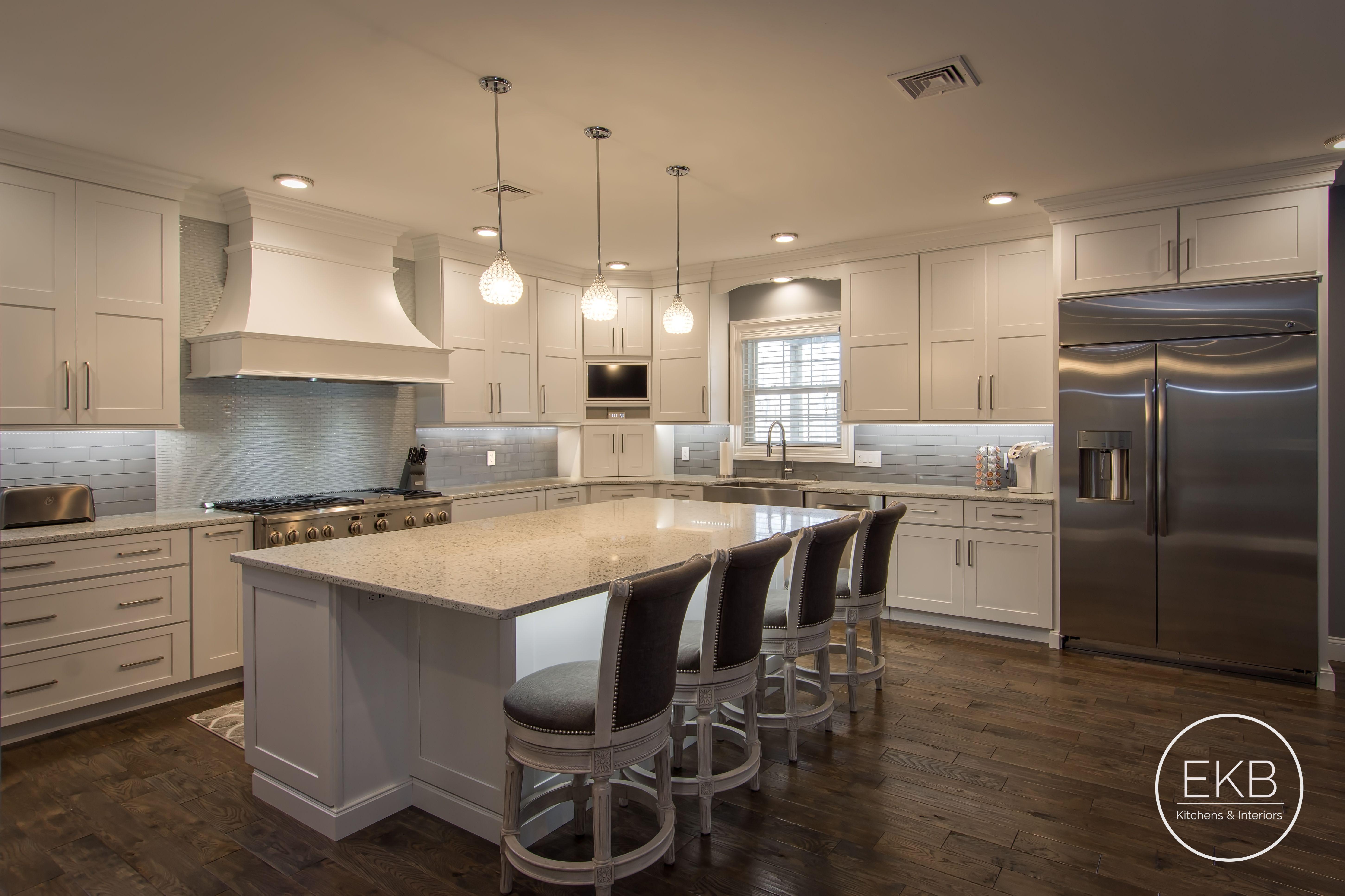 "Shiloh maple island in ""Arctic"" | Kitchen design, Kitchen ..."