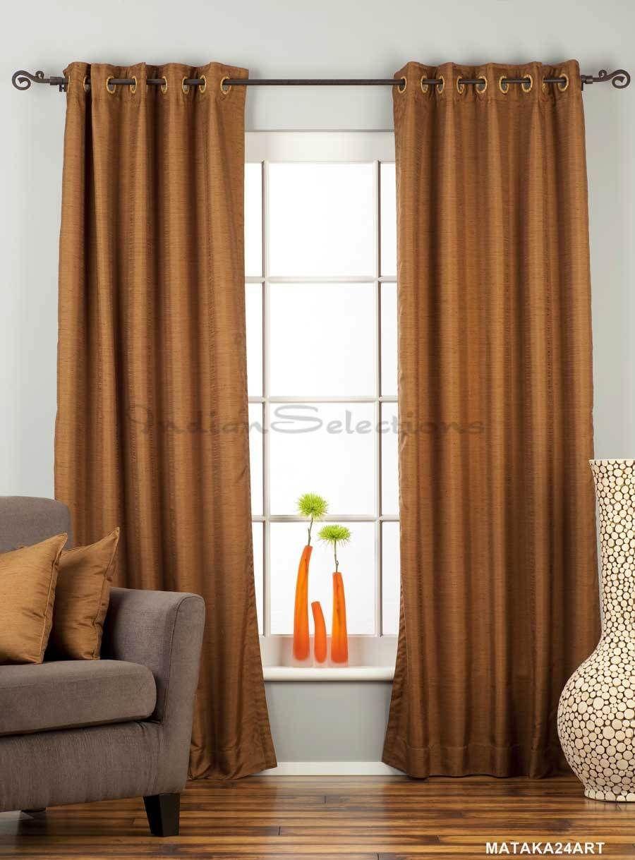 Indian Raw Silk Curtains Drapes Curtains Silk Curtains Curtains