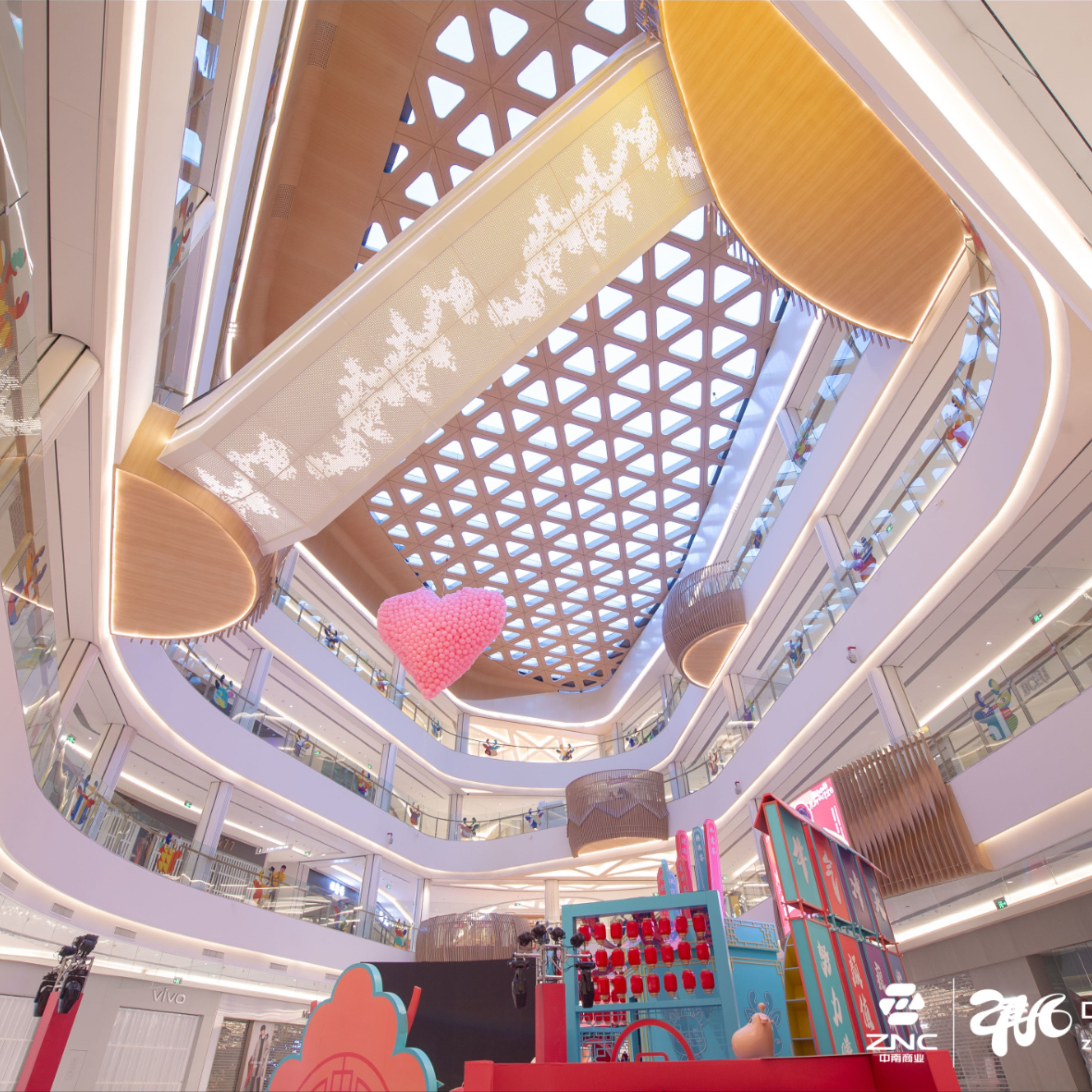 Znc Shopping Mall Dongtai China Shopping Mall Retail Design Shopping