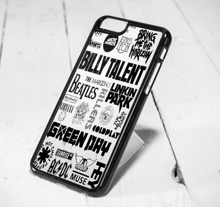 Green Day Collage Protective iPhone 6 Case, iPhone 5s Case