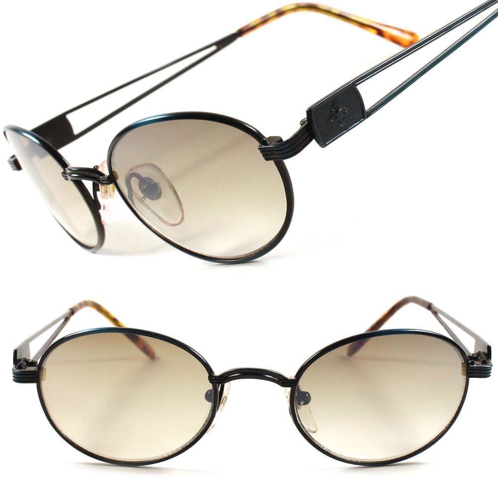 205ad6bda4e4 Classic Retro Vintage Old School Frame Mens Womens Oval Round Sunglasses  D41A  KISS  Round
